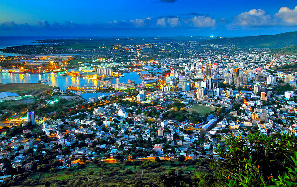 Port Louis Central Business District