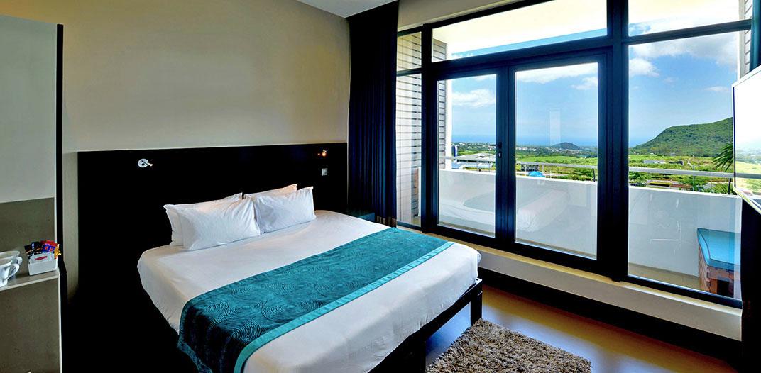 Hotel rooms at Voila Hotel, Mauritius