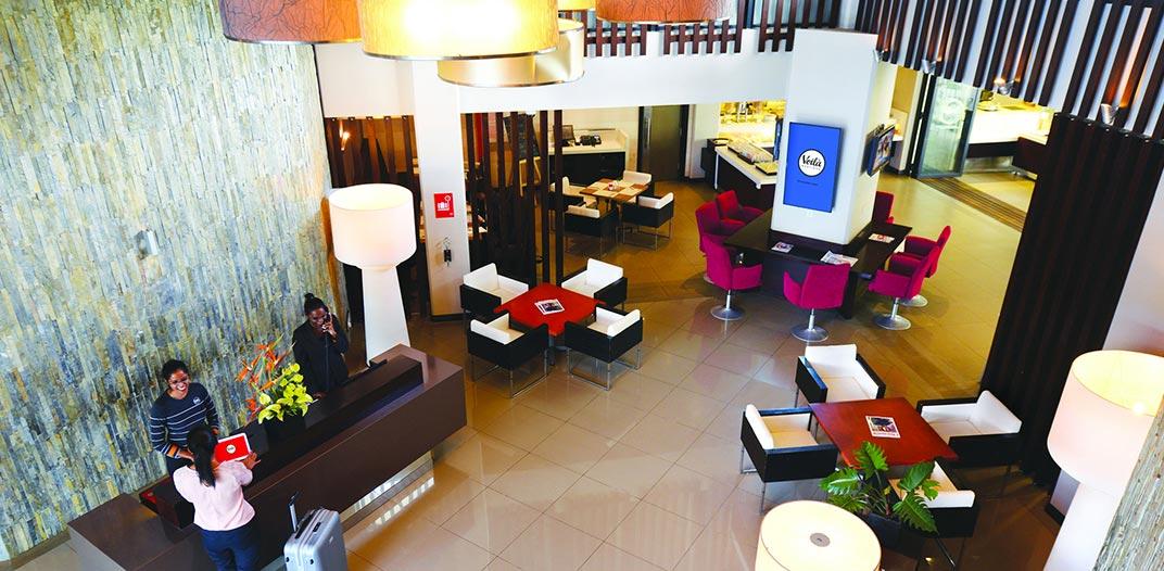 The Voila Hotel Lobby