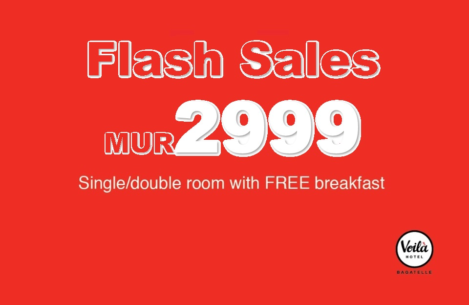 Flash Sales - Early booking